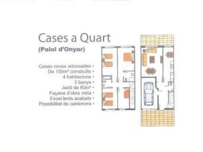 Casa adosada en venta en Quart