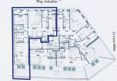Penthouse in Psg. de La Industria  - C/ Lluis Millet