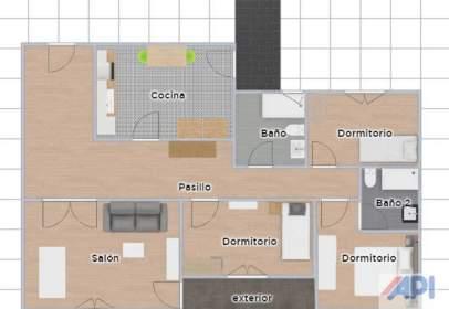 Apartamento en calle Felix Burriel