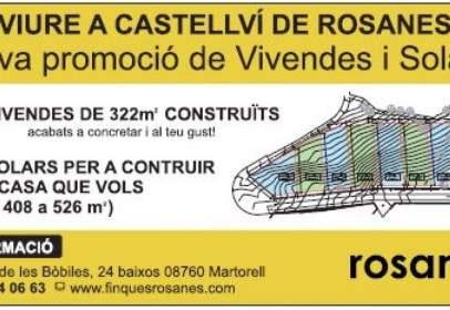 Terreno en Castellví de Rosanes