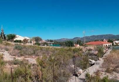 Land in Avenida Cardenal Benlloch Partida Els Rincons